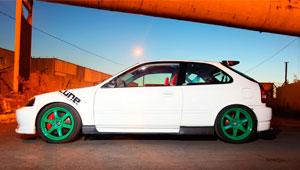 Honda Civic Hatchback EK-9 K20 тюнинг